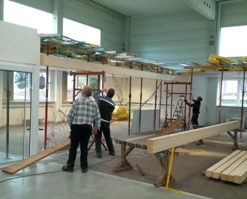 Während des Umbaus